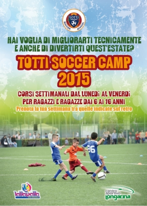 TOTTI SUMMER CAMP